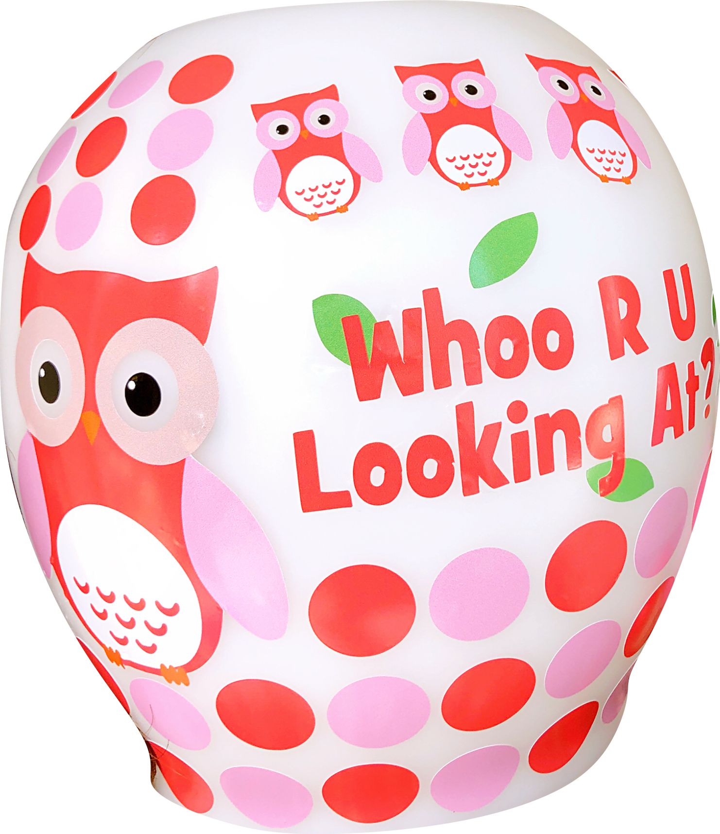 Who R U looking owl cranial band