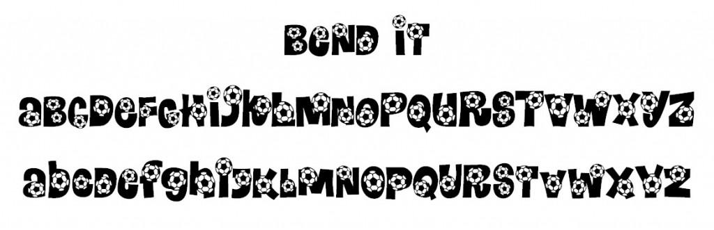Bend It Font
